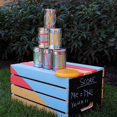 tin  toss backyard game project  decoart