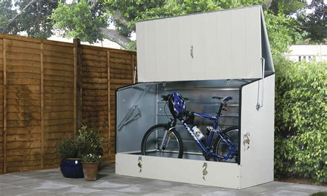 Metal Bike Shed by Bike Sheds And Metal Garden Storage Units From Trimetals Uk