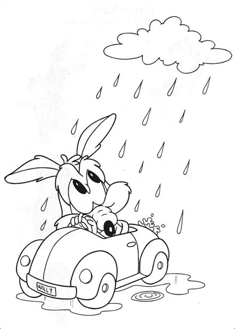 baby looney coloring pages baby looney tunes coloring pages coloringpages1001 com