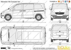 Mercedes Vito Specifications The Blueprints Vector Drawing Mercedes Vito