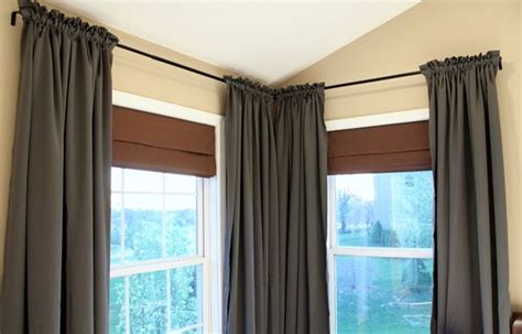 corner window curtain 173 best window treatments images on pinterest window
