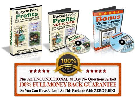 on course profits ebook upcycle print profits free advice and help for the ebay