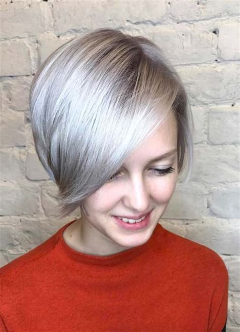 haircuts for fine white hair 55 short hairstyles for women with thin hair fashionisers
