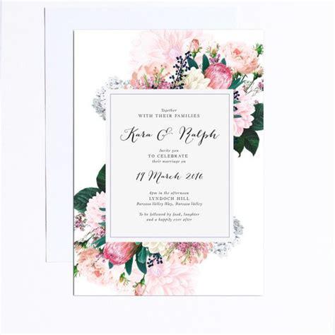 invitation design brisbane 25 best ideas about floral wedding invitations on