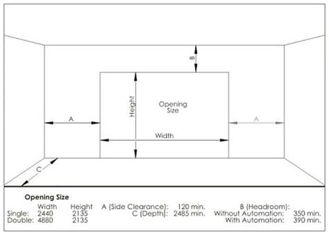 Small Garage Door Sizes What Is The Standard Garage Door Height Quora