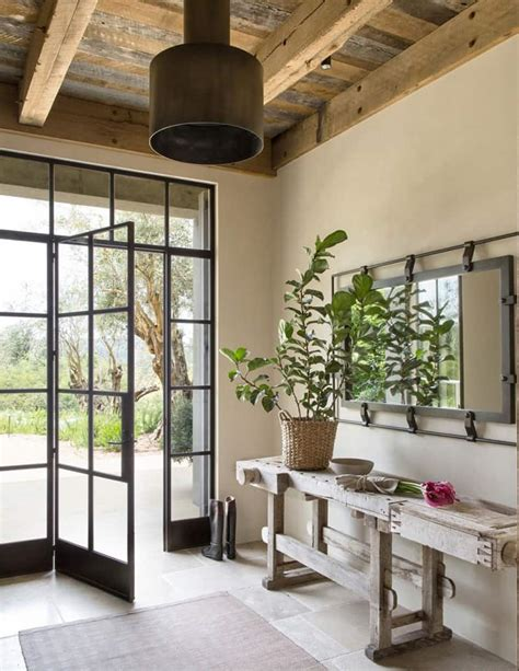 Jute Interior Design by Stunning Residence In California Healdsburg Ranch
