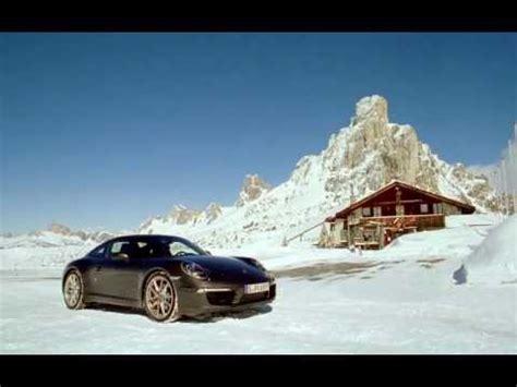 porsche 911 snow new porsche 911 carrera 4s 2013 snow youtube