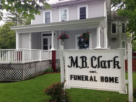 our facilities m b clark inc funeral home serving