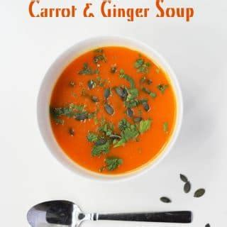 Detox Carrot Soup by Detox Carrot And Soup In The Crock Pot Lizzy