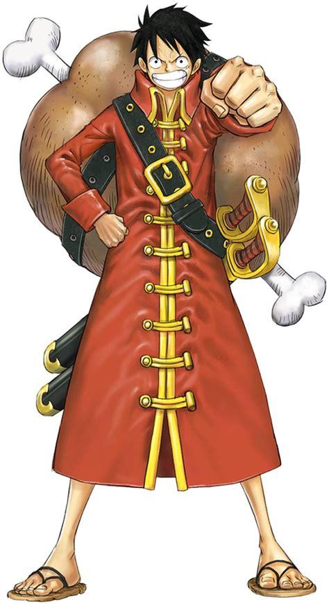 Kaos One Luffy Sword image oppw2 luffy z costume jpg one wiki fandom powered by wikia