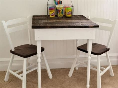 Childrens Dining Table Recycled Pallet Dining Table 15 Ideas Refurbished Ideas