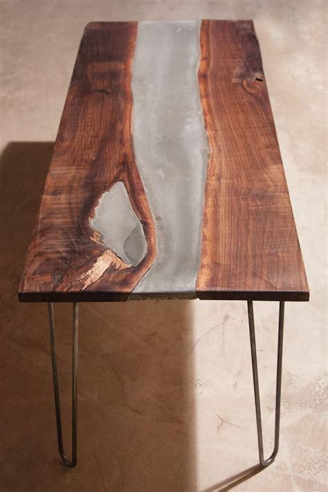bit experimental   table walnut slab