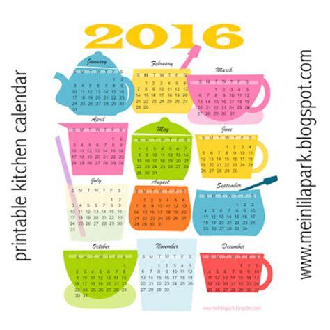 free printable calendar 2015 colorful year ausdruckbarer free printable 2016 kitchen calendar ausdruckbarer