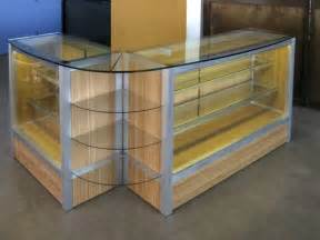 crafted custom retail display cabinet by glendon