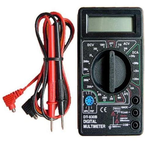 Pocket Size Digital Multimeter Dt830b dt830b multimeter mini multimeter digital pocket multimeter ebay