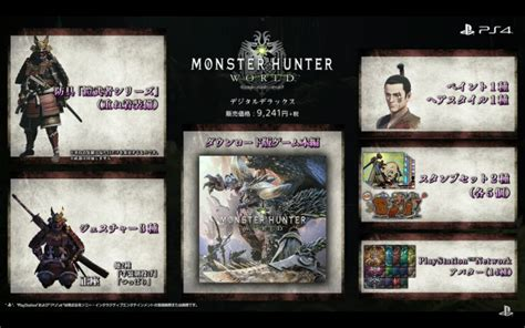 """""""Monster Hunter: World"""" Official Release Date & Pre Order TGS 2017 Announcement!   Fextralife"""