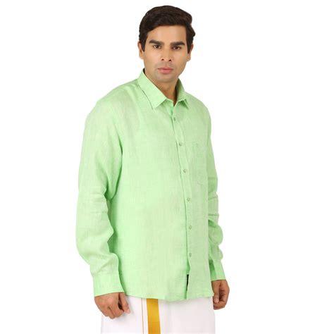Parrot T Shirt parrot green linen sleeve shirts ramraj cotton