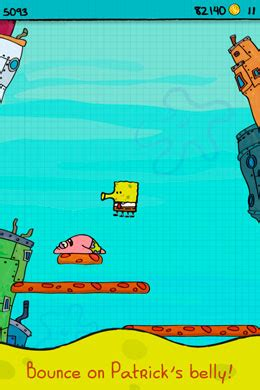 doodle jump spongebob apk doodle jump spongebob игра на устройства с ос android