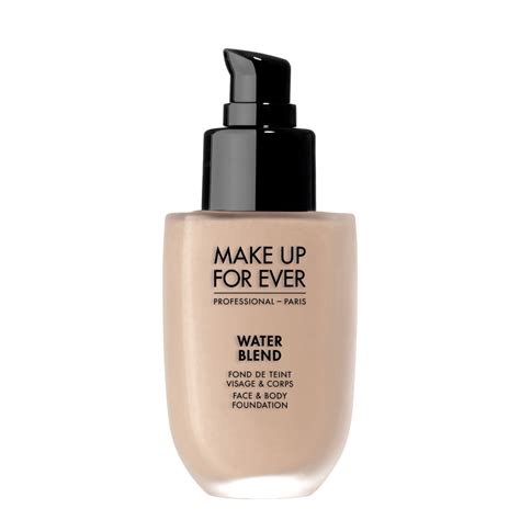 Makeup Forever water blend foundation make up for