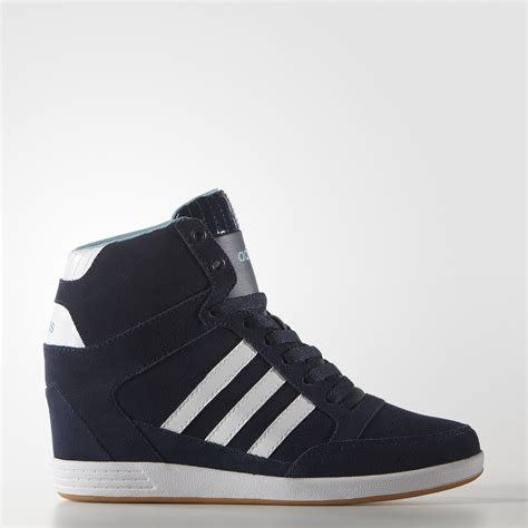adidas wedge shoes blue adidas us