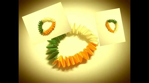 Origami Sheets India - diy independence day paper quilling bracelet origami