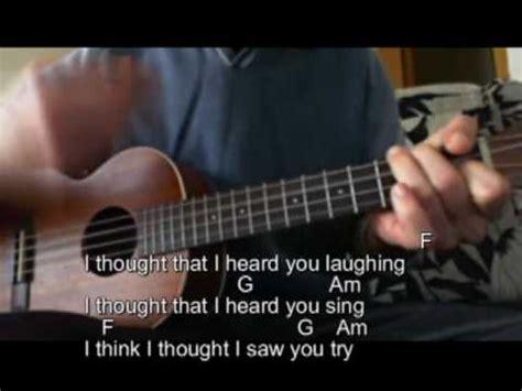 ukulele tutorial elephant gun elephant gun beirut tutorial ukelele funnycat tv