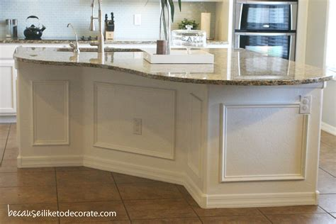 Kitchen Island Panel Ideas Wainscoting Because I Like To Decorate