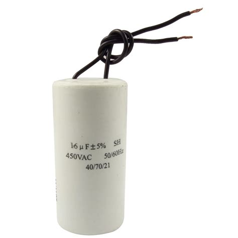 sh capacitor 50 cbb60 ac 450v 16uf wired motor run start sh capacitor 50 60hz dt ebay