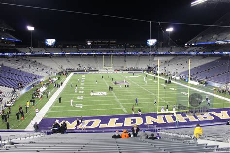 sun devil stadium visitor section husky stadium section 138 rateyourseats com