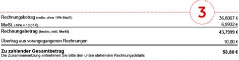 Beschwerdebrief Kabel Deutschland Muster Muster Rechnung Tv Vodafone Kabel Deutschland Kundenportal