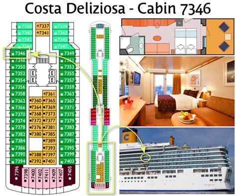 cabine costa deliziosa wansbrough s cruise costa deliziosa cruise preamble