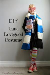 harry potter s luna lovegood costume made by our 9 year