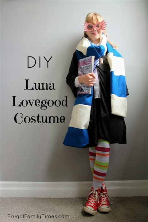 harry potter lovegood costume made our 9 year