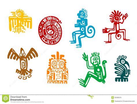 imagenes simbologia maya s 237 mbolos abstractos del arte del maya y del azteca