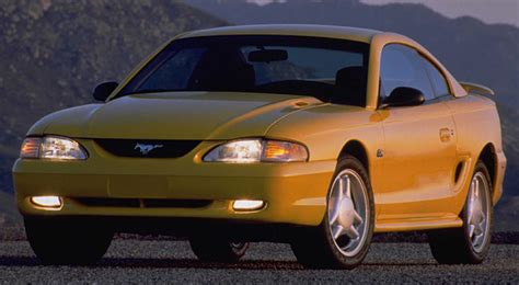 mustang facts mustang facts 1994 to 2010