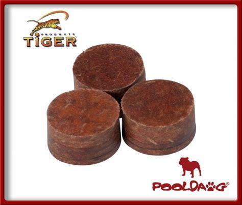 Tiger Dynamite Layered Cue Tip tiger dynamite pool cue tip single