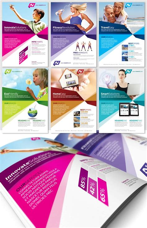 advertisements template multipurpose business flyer template magazine ad