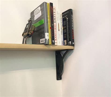 brackets for bookshelves ekena millwork miller brackets for bookshelves