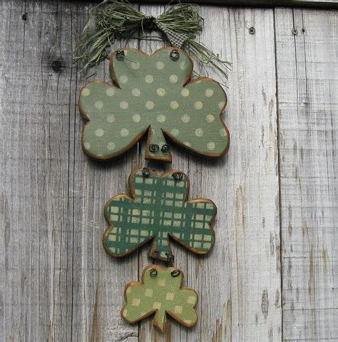 wooden st s day crafts st s day decor rustic shamrock trio me i m rustic wood