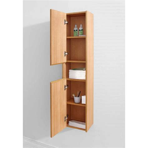 virtu usa delmore 12 vanity side linen cabinet with free