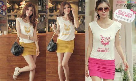 Kaos Abg Import 3 baju remaja murah baju abg perempuan baju abg