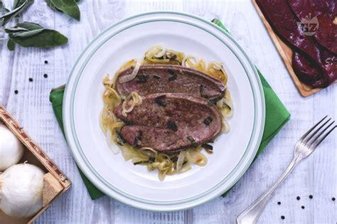 cucinare fegato ricetta fegato alla veneziana la ricetta di giallozafferano