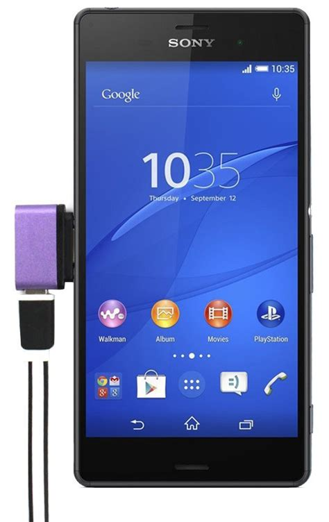 Baterai Xperia Z2 micro usb to magnetic charger adapter for sony xperia z1