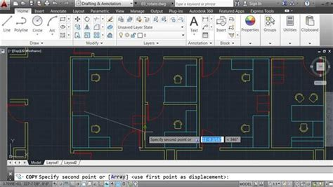 autocad tutorial units autocad 2014 how to draw in architectural units