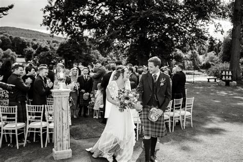 relaxed colourful outdoor aberdeenshire wedding we fell