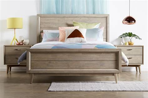 queen size celeste queen size timber bed bedshed