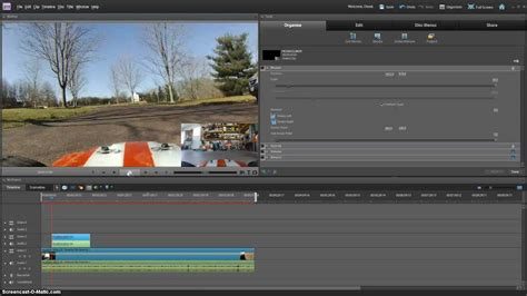tutorial nvu youtube picture in picture effect adobe premiere elements 9 10