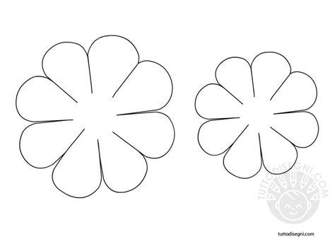 forme di fiori da ritagliare sagome fiori tuttodisegni