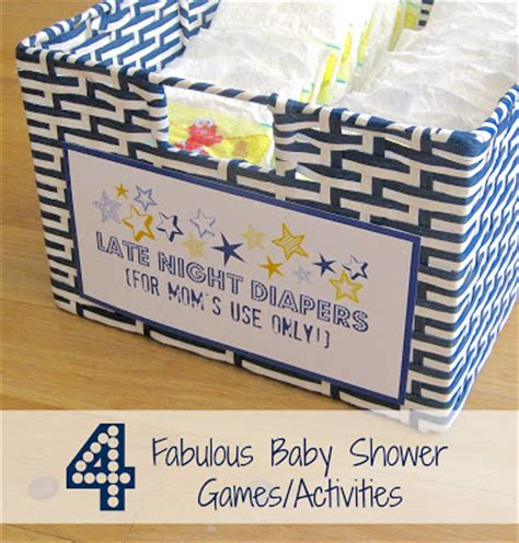 fabulous baby shower four fabulous baby shower activities driven by decor
