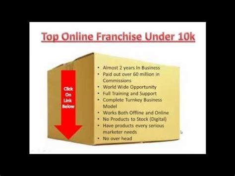 top online franchises under 10k 2013 best franchises to